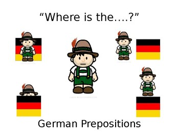 German Prepositions, Wo ist...?