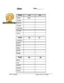 German Present Tense Worksheet - Quiz - Präsens - FREEBIE !!