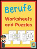 German Professions  Worksheets
