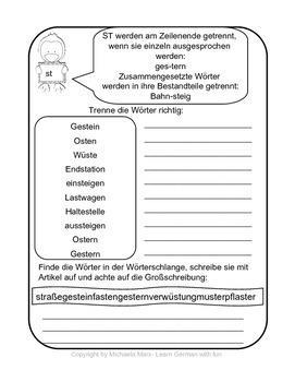 German Pronunciation Consonants and Consonant Cluster