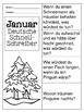 German Quick Writes- Deutsche Übungen zum schreiben üben- Januar