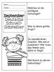 German Quick Writes- Deutsche Übungen zum schreiben üben- September