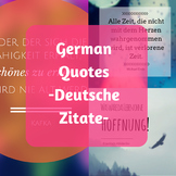 German Quotes - Deutsche Zitate