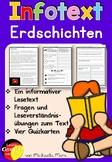 German Reading Comprehension- Deutscher Sachtext- Erdschichten