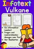 German Reading Comprehension- Deutscher Sachtext- Vulkane