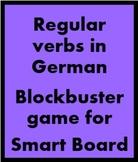 German Regular Verbs Blockbuster for Smartboard