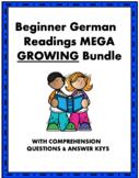 German Beginner Reading MEGA Bundle: Top 50+ Lesungen @50%