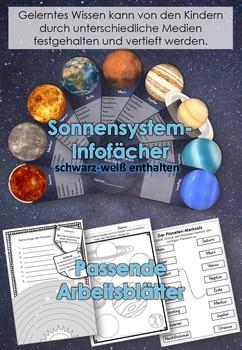 German- Sachunterricht Weltall, Mond, Sterne, Planeten