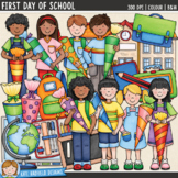 German School Traditions Clip Art: First Day of School