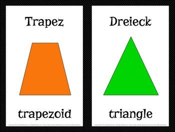 German Shapes Vocabulary Fl... by Mr Elementary | Teachers Pay ...