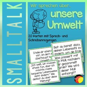 German Smalltalk about Environment- Deutsche Sprechanlässe