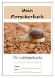 German - Snail - Forscherbuch Schnecke, Weinbergschnecke