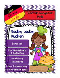 German Song -Backe, backe Kuchen