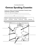 German Speaking Countries Packet (w/ Key) - Germany, Austria, Switzerland