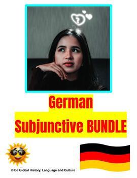 German Subjunctive BUNDLE