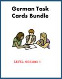 German Task Cards Bundle: 5 Sets at 30% off!