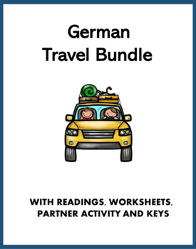 German Travel Bundle: 6 Resources! (Reisen, Flug, Hotel)