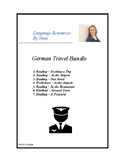 German Travel Bundle - Reisen auf Deutsch (Flughafen, Hotel, Restaurant)