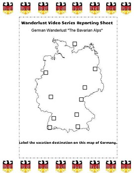 German Travel Destinations Video Guide: Wanderlust IN ENGLISH