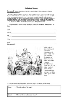German Unification handout