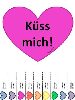 German Valentine Posters