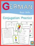 German Verbs   Conjugation Practice