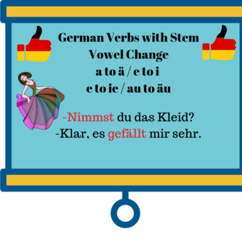 German Verbs with Stem Vowel Change