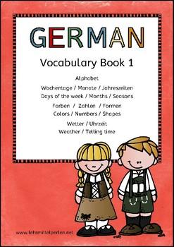 German Vocabulary 1: Basics