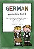 German Vocabulary 2: Me, my family, my friends