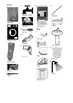 German Vocabulary - Bathroom - Furniture and Household Items Crossword Puzzle