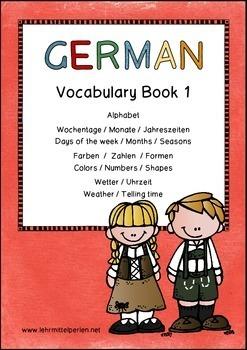 German Vocabulary Bundle