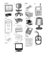 German Vocabulary - Office Equipment and Furniture Crosswo