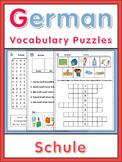 German Vocabulary Puzzles  Schule