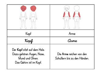 German Vocabulary Set 1