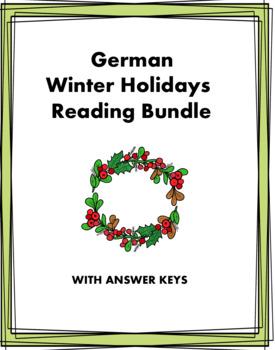 German Winter Holidays Mini Bundle: Weihnachten/Sylvester @30% off: