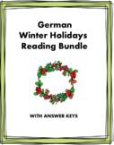German Winter Holidays Mini Bundle: Weihnachten/Sylvester