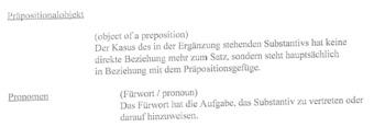German Wortgrammatik (German Grammar Vocab)