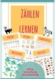 German, Zählen, Zahlenverständnis, Anfangsunterricht Mathe