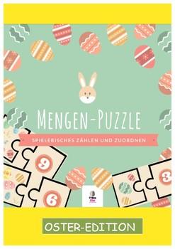 German, Zählen, Zahlenverständnis, Montessori, Grundschule, Ostern