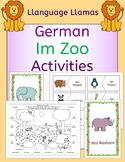 German Zoo Animals - Im Zoo - Activities Pack - die Tiere