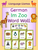 German Zoo Animals - Im Zoo - Word Wall - die Tiere