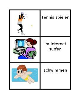 Aktivitäten (Activities in German) Concentration games
