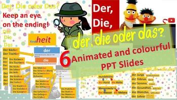 German articles - der, die oder das?
