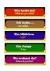 German basic conversation  Flashcards  .