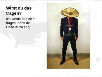 German clothing/future practice