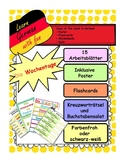 German days of the week - Die Wochentage auf Deutsch