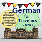 German for Travelers Course 3 PowerPoint