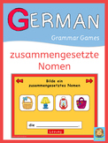 German compound nouns  PowerPoint game plus task cards