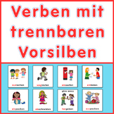 German games plus task cards,  verbs with separable prefixes
