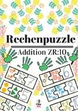 German, kleines Einmaleins, Mathe, Puzzle, Montessori